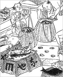 江戸時代・納屋才の図